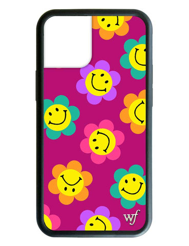 Smiley Flowers iPhone 12 Case