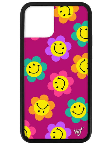 Smiley Flowers iPhone 12 Pro Case
