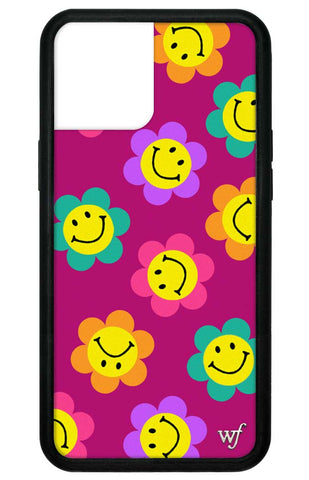 Smiley Flowers iPhone 12 Pro Max Case