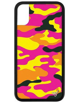 Neon Camo iPhone X/Xs Case