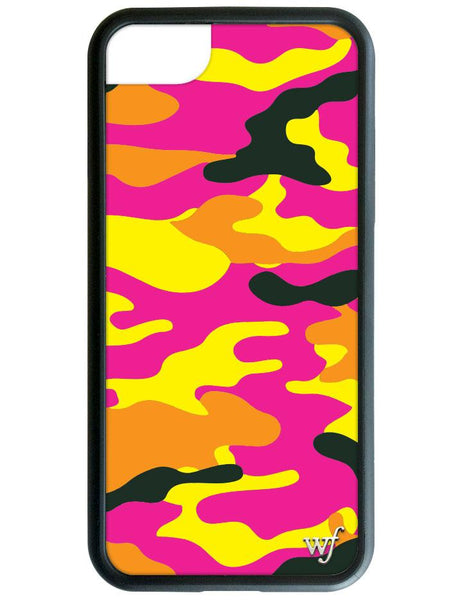 Neon Camo I Phone 6/7/8 Case by Wildflower Cases