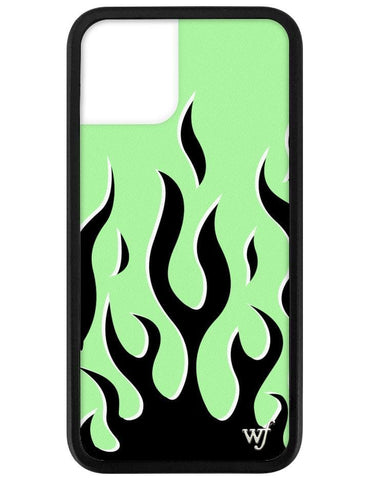 Neon Flames iPhone 11 Pro Case