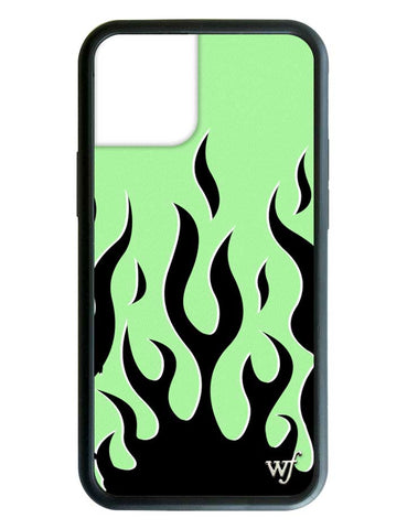 Neon Flames iPhone 12 Case