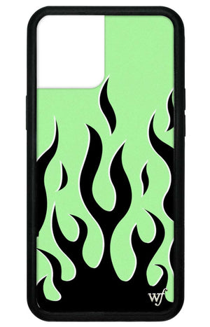 Neon Flames iPhone 12 Pro Max Case