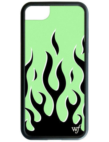 Neon Flames iPhone 6/7/8 Case
