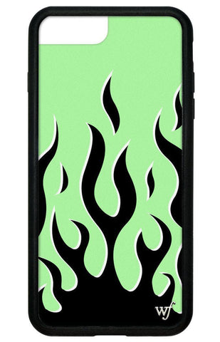 Neon Flames iPhone 6+/7+/8+ Plus Case