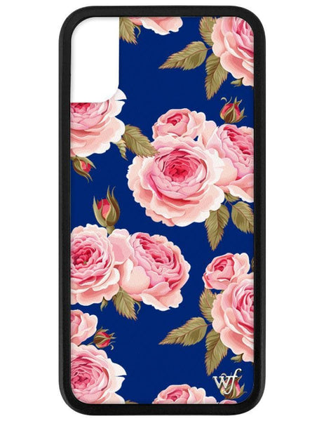Navy Floral iPhone X/Xs Case