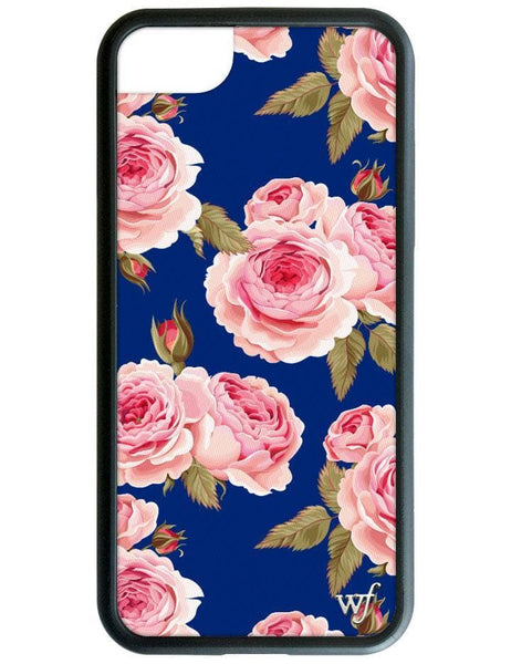 Navy Floral iPhone SE/6/7/8 Case