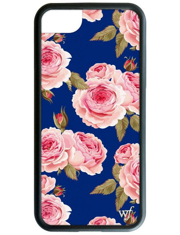 Navy Floral iPhone 6/7/8 Case