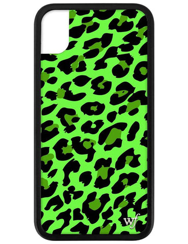 Neon Leopard iPhone Xr Case