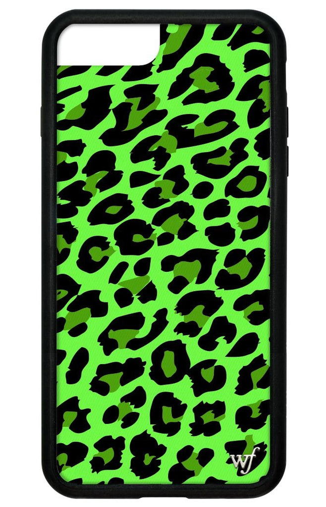 the best attitude bd246 a13f0 Neon Leopard iPhone 6+/7+/8+ Plus Case
