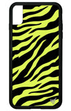 Neon Zebra iPhone Xs Max Case