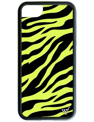 Neon Zebra iPhone SE/6/7/8 Case