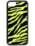 Neon Zebra iPhone 6/7/8 Case