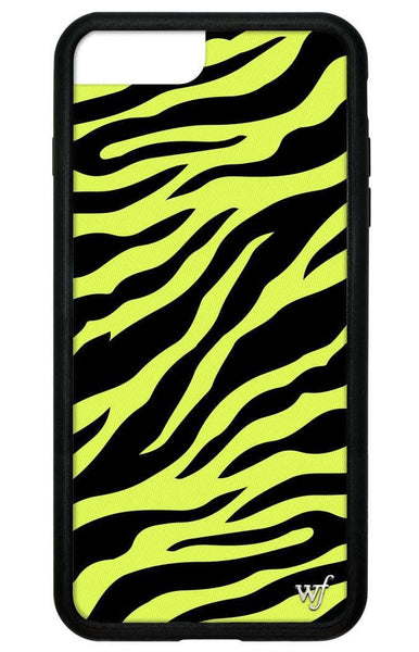 Neon Zebra iPhone 6+/7+/8+ Plus Case