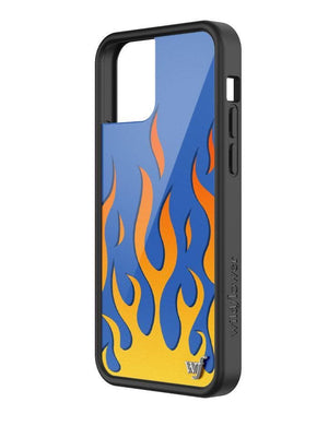 Flames iPhone 12/12 Pro Case | Blue