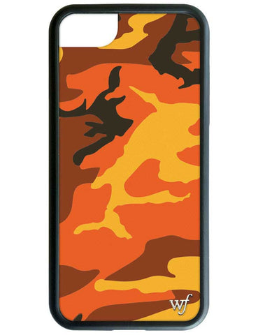 Wildflower Orange Camo iPhone 6/6s/7 Case
