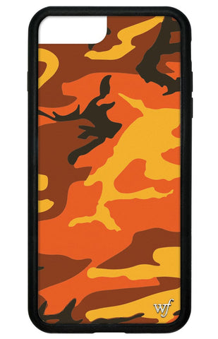 Wildflower Orange Camo iPhone 6 Plus/6s Plus/7 Plus Case