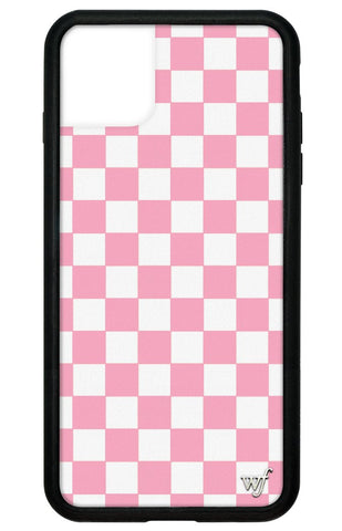Pink Checkers iPhone 11 Pro Max Case