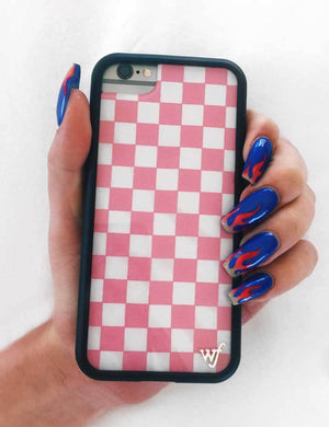 Checkers iPhone 6/7/8 Case | Pink