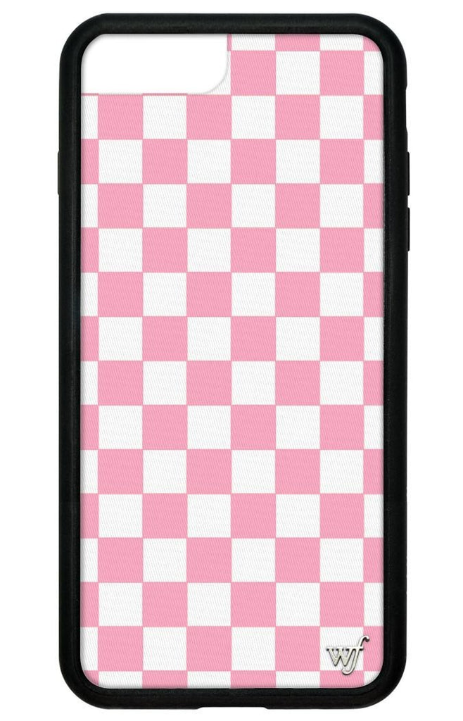 timeless design d8476 35b35 Pink Checkers iPhone 6+/7+/8+ Plus Case