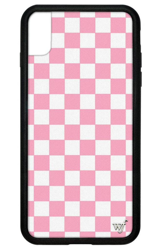 competitive price 80b8a e0014 Pink Checkers iPhone Xs Max Case