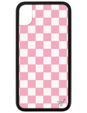 Checkers iPhone Xr Case | Pink