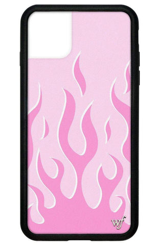 Pink Flames iPhone 11 Pro Max Case