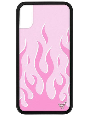 Pink Flames iPhone X/Xs Case