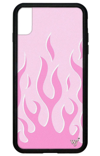 Pink Flames iPhone Xs Max Case
