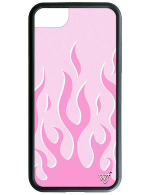 Pink Flames iPhone SE/6/7/8 Case