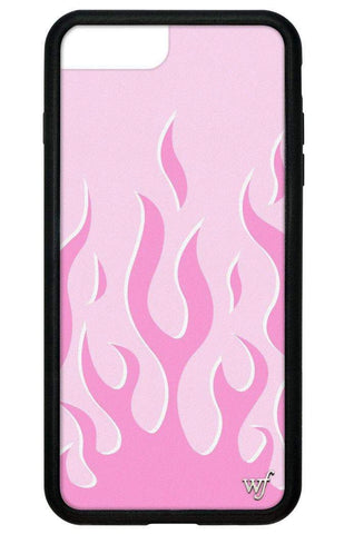 Pink Flames iPhone 6+/7+/8+ Plus Case