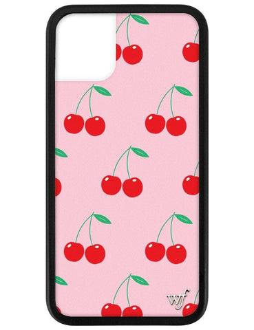 Pink Cherries iPhone 11 Case