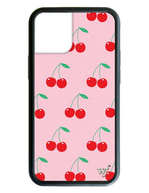 Pink Cherries iPhone 12 Case