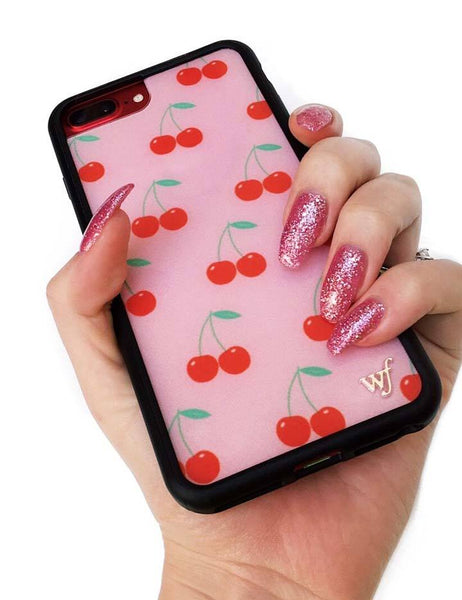 meet 12970 0166c Pink Cherries iPhone 6/7/8 Case – Wildflower Cases