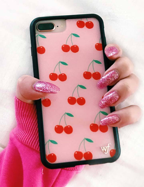 new product 8f491 d87f5 Pink Cherries iPhone 6/7/8 Case