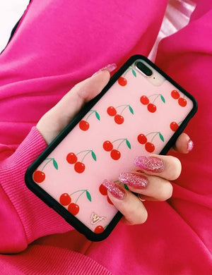 Cherries iPhone 6/7/8 Plus Case | Pink
