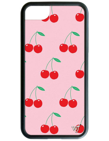 Cherries iPhone SE/6/7/8 Case | Pink