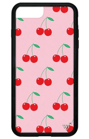 Cherries iPhone 6+/7+/8+ Plus Case | Pink