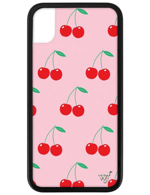 Cherries iPhone Xr Case | Pink