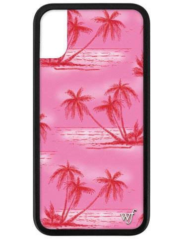 Pink Palms iPhone X/Xs Case