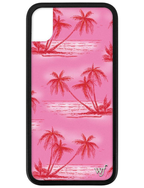 Pink Palms iPhone Xr Case