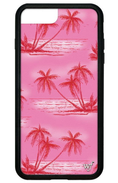 Pink Palms I Phone 6/7/8 Case by Wildflower Cases