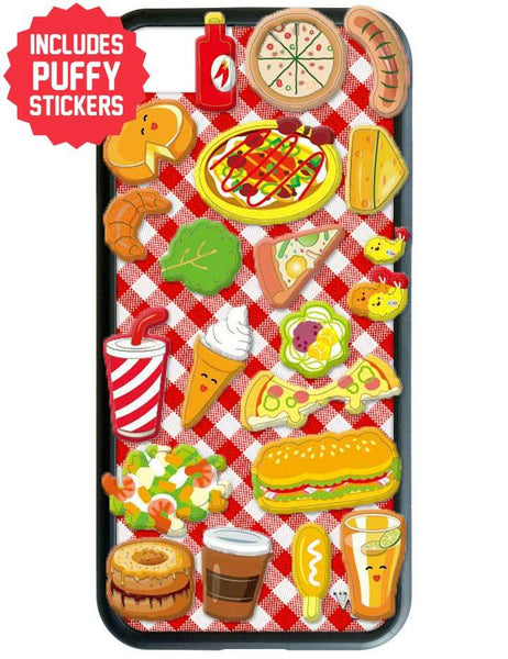 Pizzeria iPhone SE/6/7/8 Case Includes Stickers