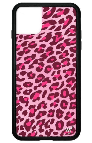 Leopard iPhone 11 Pro Max Case | Pink