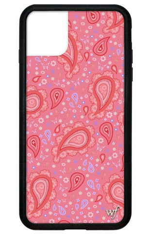 Strawberry Paisley iPhone 11 Pro Max Case