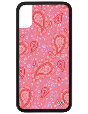 Strawberry Paisley iPhone X/Xs Case