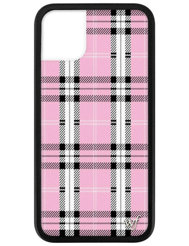 Pink Plaid iPhone 11 Case