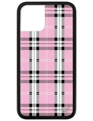 Pink Plaid iPhone 11 Pro Case