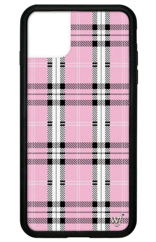 Pink Plaid iPhone 11 Pro Max Case